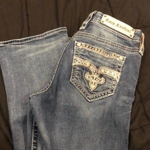 """Haine"" rock revival jeans"